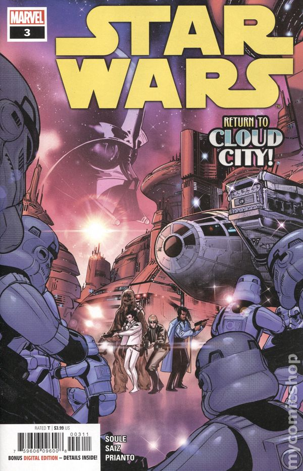 Star Wars Tie Fighter #3A Edwards Variant VF 2019 Stock Image