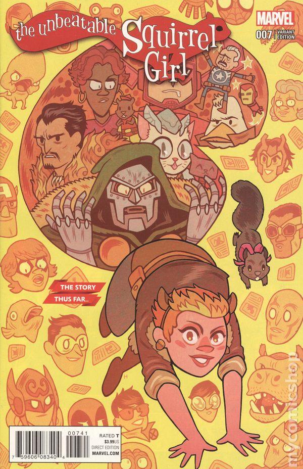 Unbeatable Squirrel Girl #45 War of Realms Tie In Marvel Comic 1st Print 2019 NM