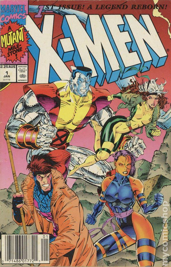 X Men 1991 1st Series Australian Price Variant Comic Books