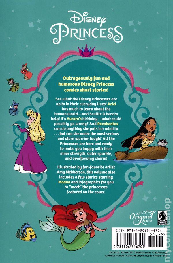 Disney Princess Friiends Family Fantastic Tpb 2020 Dark Horse