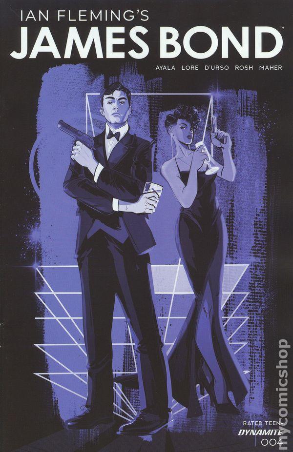 JAMES BOND #5 NM Dynamite Comic Vault 35
