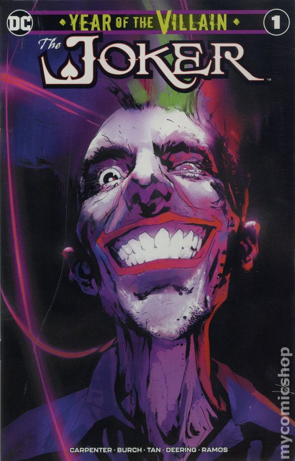 Joker Year Of The Villain #1 CGC 9.8 First 1st Print Edition Phillip Tan Cover