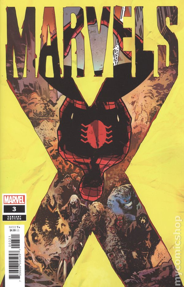 Marvels X #3 Of 6 First Print Ross Cover 2020 Marvel Comics