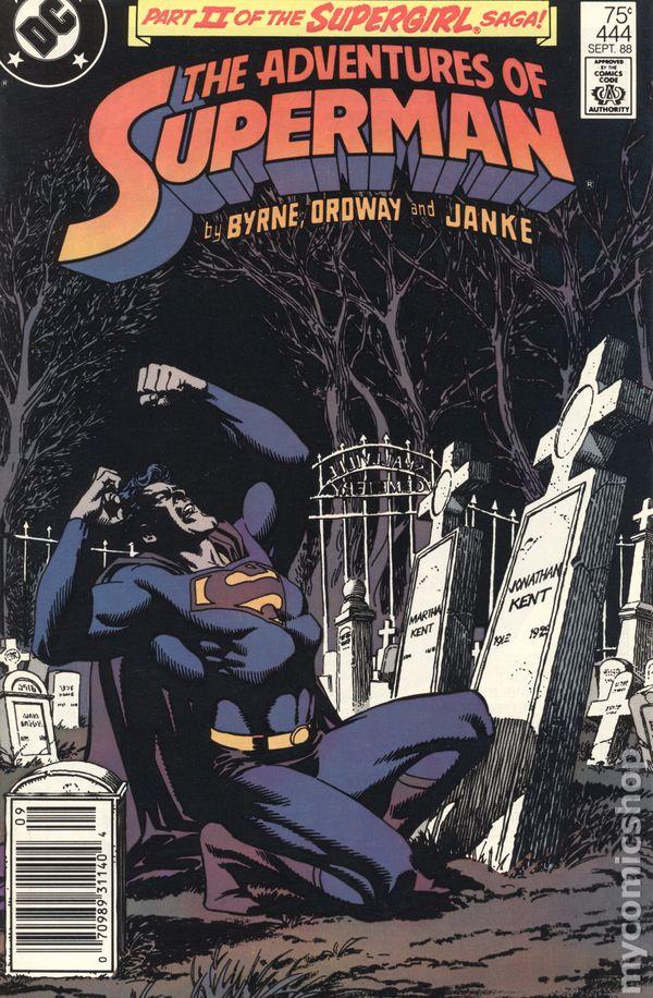 The Adventures of Superman Comic Book #441 DC Comics 1988 NEAR MINT UNREAD