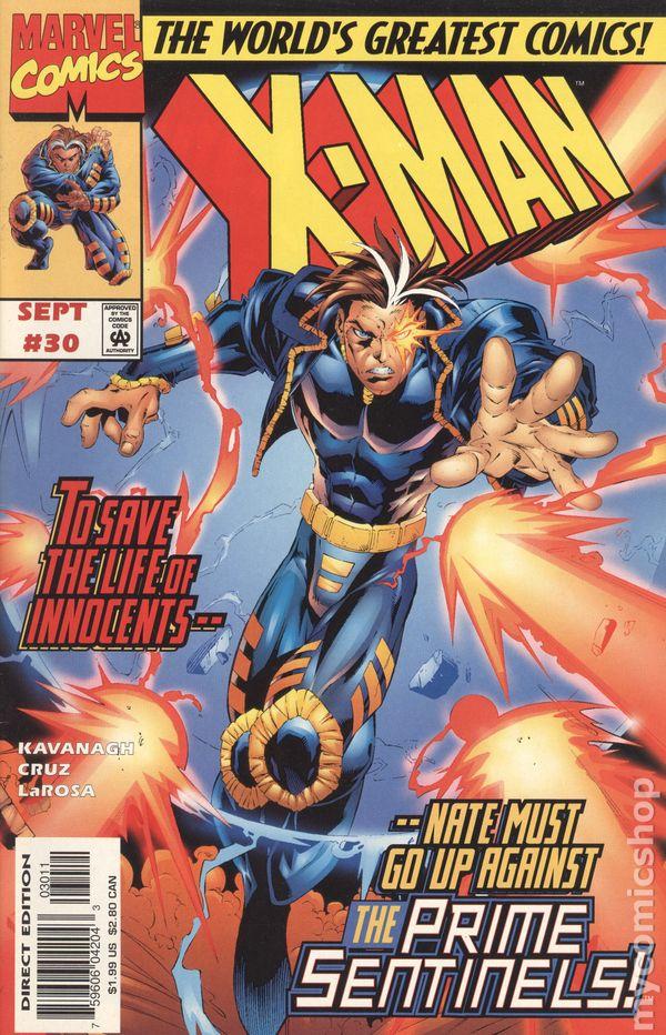 X-Man 1995 series # 13 near mint comic book