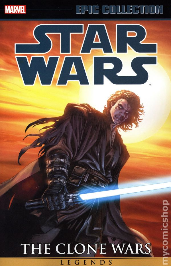 Star Wars Legends The Clone Wars Tpb 2016 2020 Marvel Epic Collection Comic Books