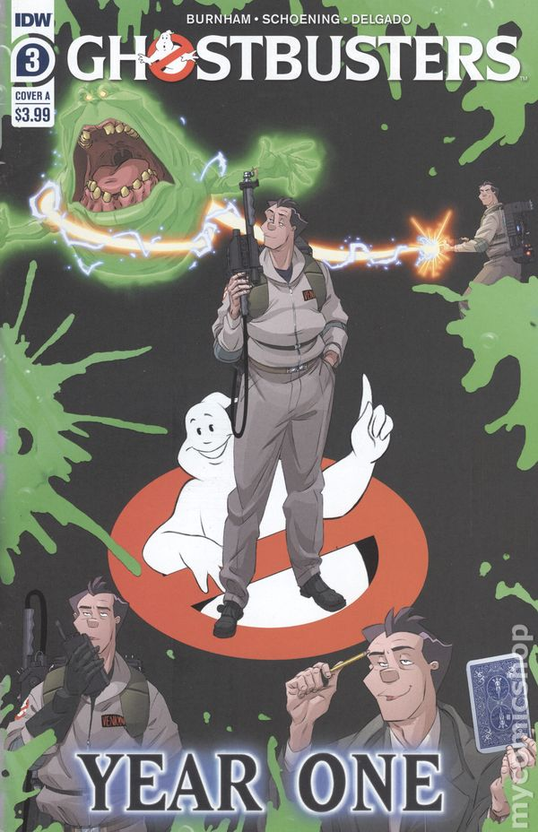 2020 IDW Vault 35 Ghostbusters Year One #3 Cover A NM