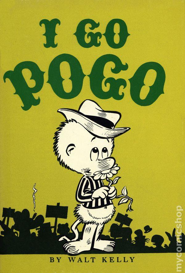 I Go Pogo HC (1977 Gregg Press) comic books 1950 or later