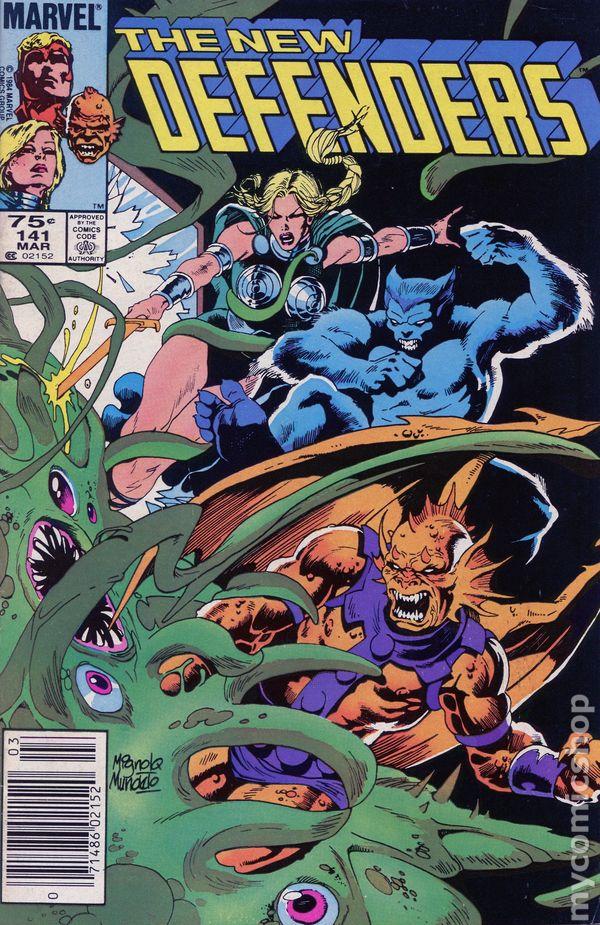 Defenders #150 FN 1985 Stock Image