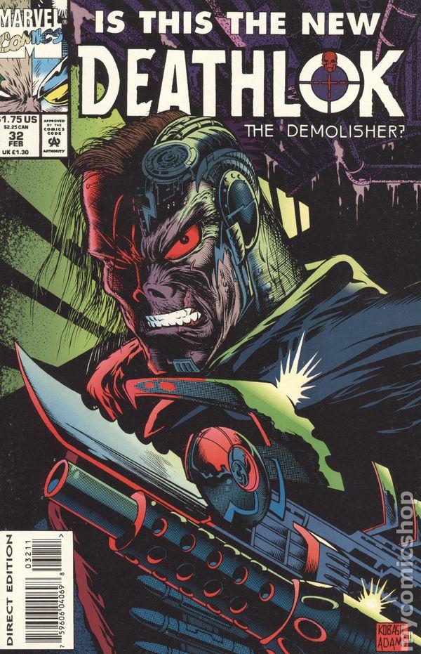 Deathlok #22 Marvel Black Panther Moses Magnum cyborg Dwayne McDuffie Kobasic VF