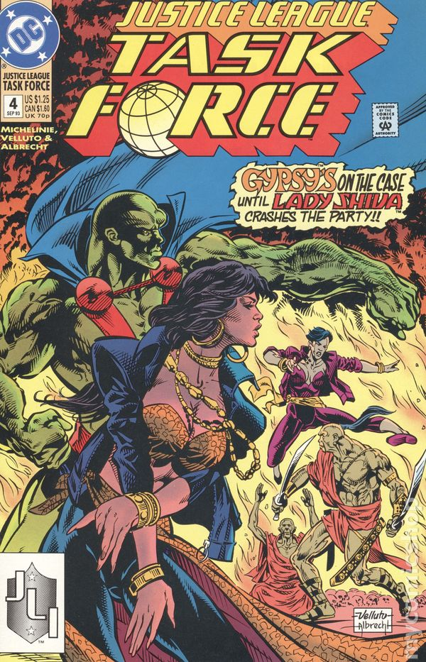 Justice League Task Force # 1 USA, 1993
