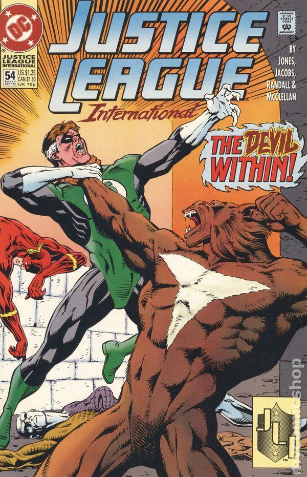 Justice League International No.59 1993 Gerard Jones /& Ron Randall