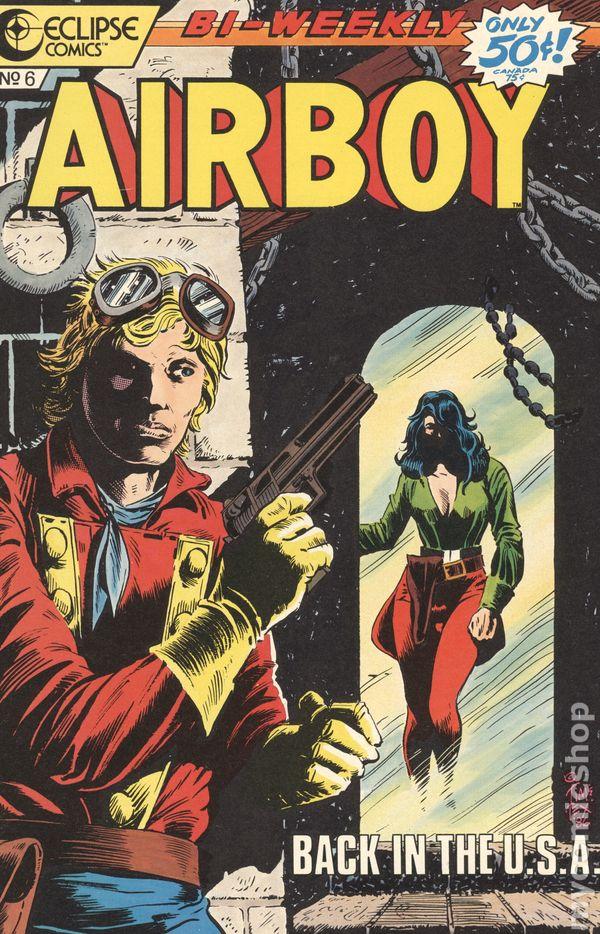 1986 Airboy #5-8,10,12-20 Eclipse Comics VF//NM