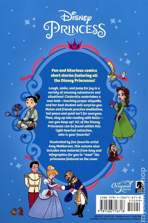 Disney Princess Follow Your Heart Tpb 2020 Dark Horse Comic Books