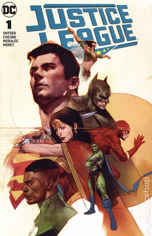 Justice League #1 DC Universe 2018 Series Snyder Jim Lee Variant 9.6 Near Mint+