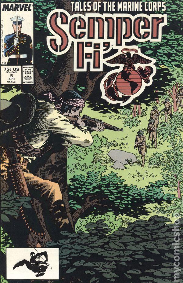 Semper Fi (1988) comic books