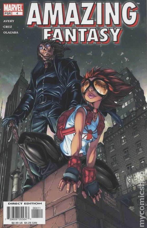 amazing fantasy  2004  comic books