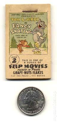 Flip Movies 1949 Grape Nuts Flakes Comic Books