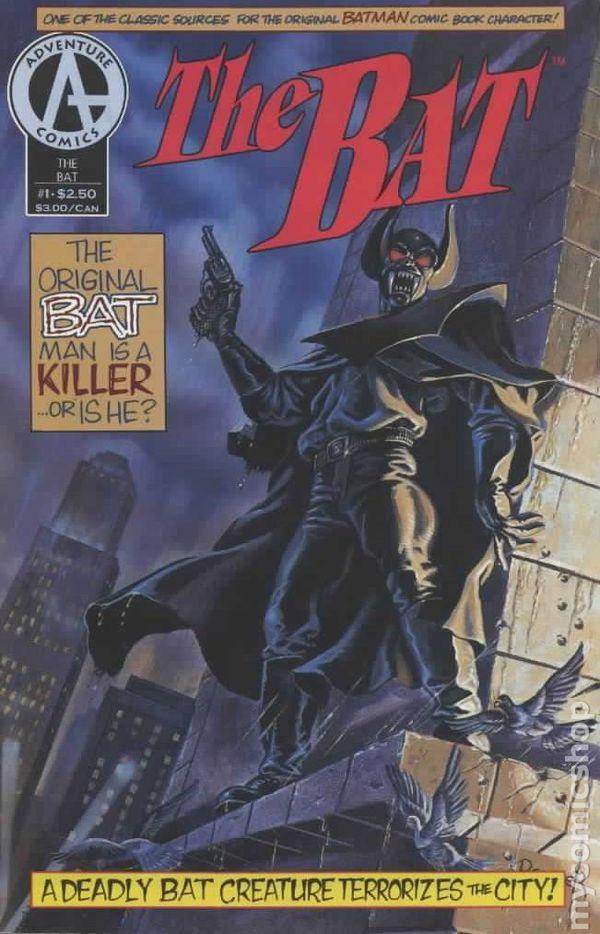 Bat 1992 Adventure Comic Books
