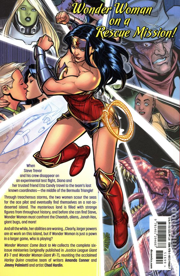 Wonder Woman #769B NM Stock Image