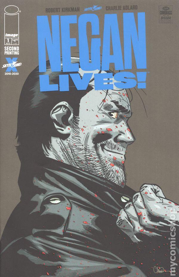 CHARLIE ADLARD ART /& MAIN COVER NEGAN LIVES #1 IMAGE//2020 1st PRINTING