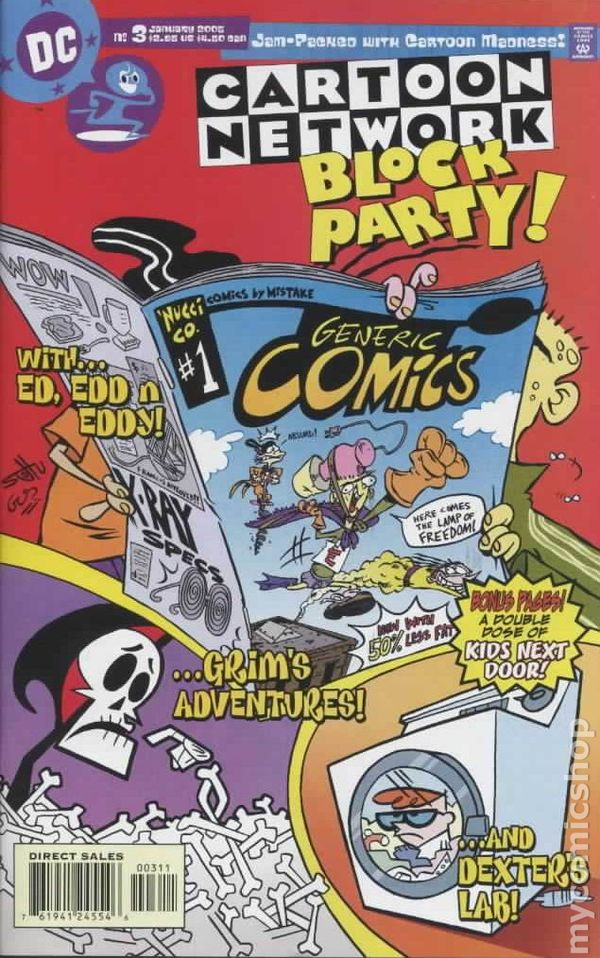 Cartoon Network Block Party 2004 Comic Books