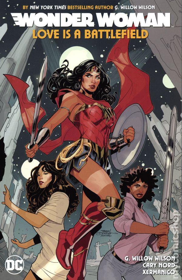 2020 DC Comics Wonder Woman Annual 4-1st Print Bryan Hitch