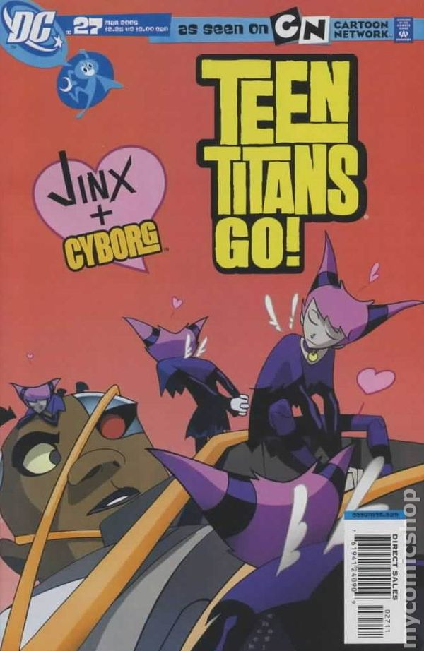 Comic # 23 Cartoon Network ~ ROBIN Return of RED X ~Comicon 2004 TEEN TITANS GO