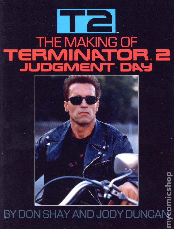 Making Of Terminator 2 Judgement Day 1991 Bantam Books Comic Books 1991