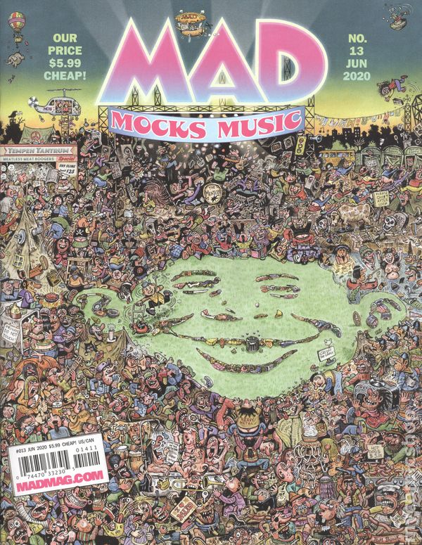Mad Magazine Issue #14 August 2020 Special Al Jaffee Issue Spy vs Spy /& more!