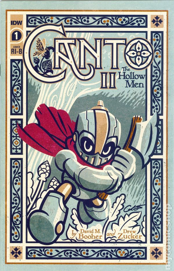 CANTO II THE HOLLOW MEN #2 ASTONE 1:10 VARIANT COVER IDW COMICS 2020