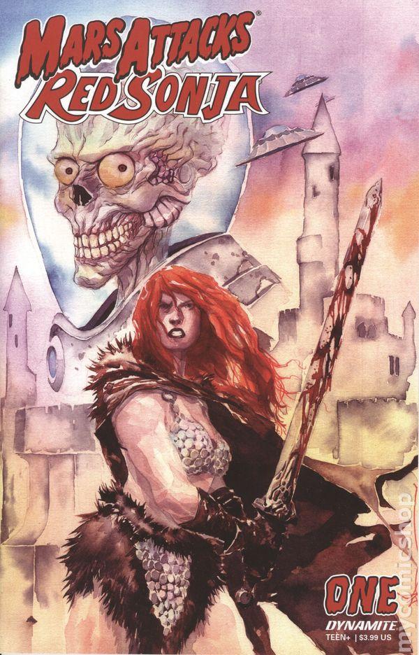 Mars Attacks Red Sonja #3 Cover A Suydam 10//21//2020