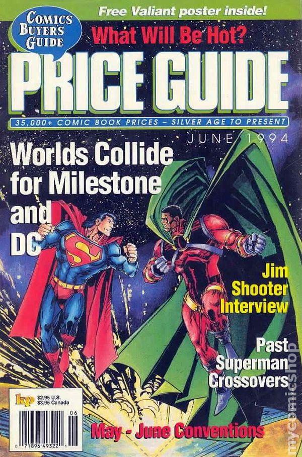 comics buyer s guide price guide 1990 magazine comic books 1993 1995 rh mycomicshop com Marvel Comic Book Price Guide Wizard Price Guide