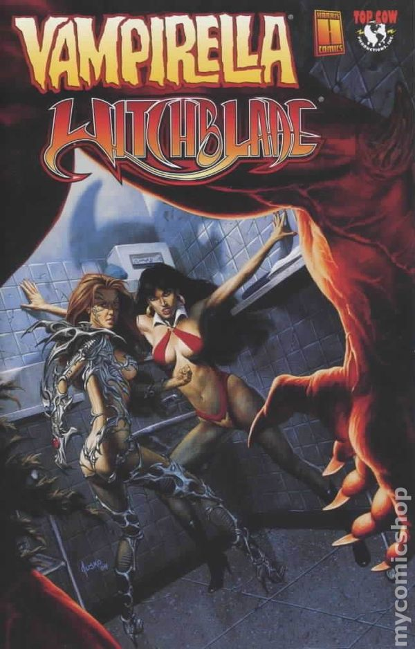vampirella witchblade union of the damned  2004  comic books