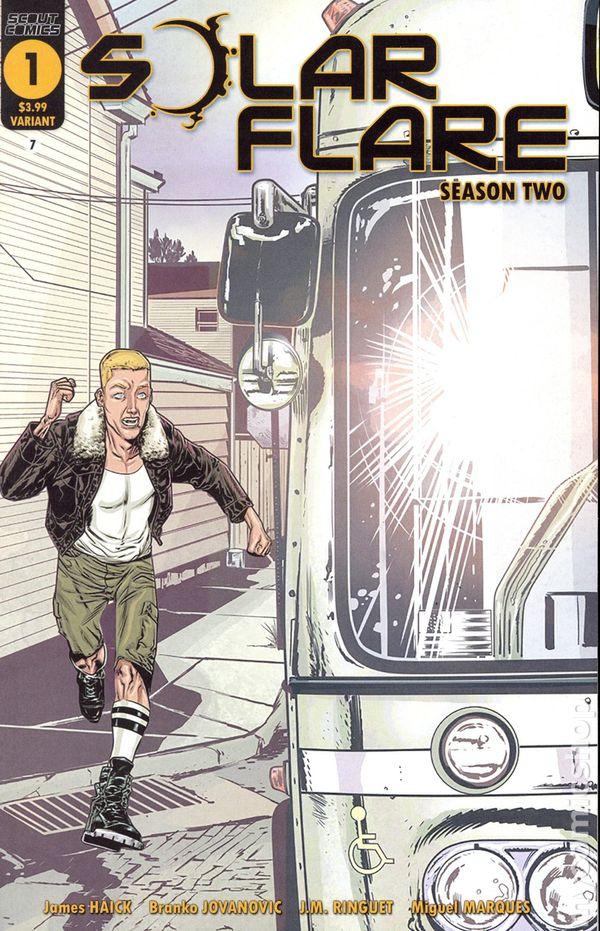 SOLAR FLARE #2 Scout Comics 1st Print HOT Low Print Run Series NM
