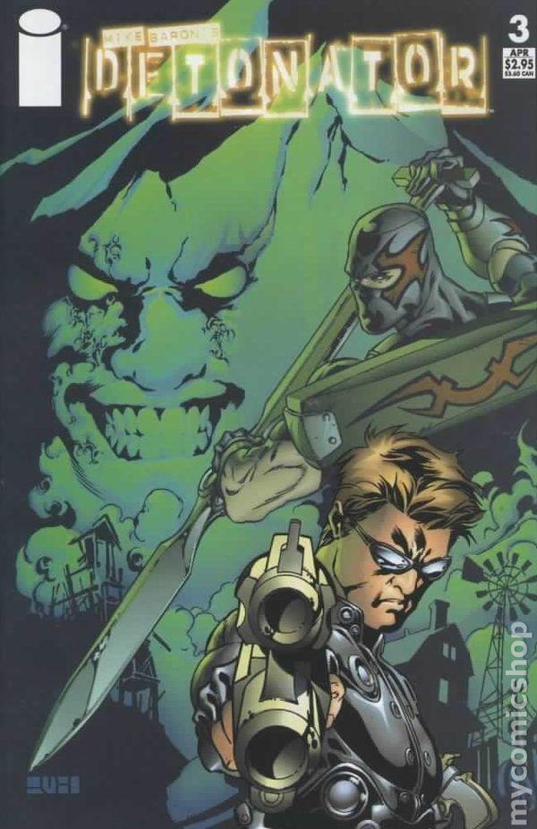 Detonator 2004 Image Comic Books