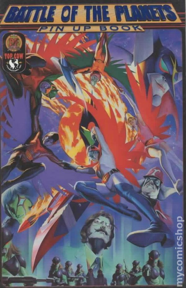 Battle of the Planets Pin-Up Book (2003) comic books