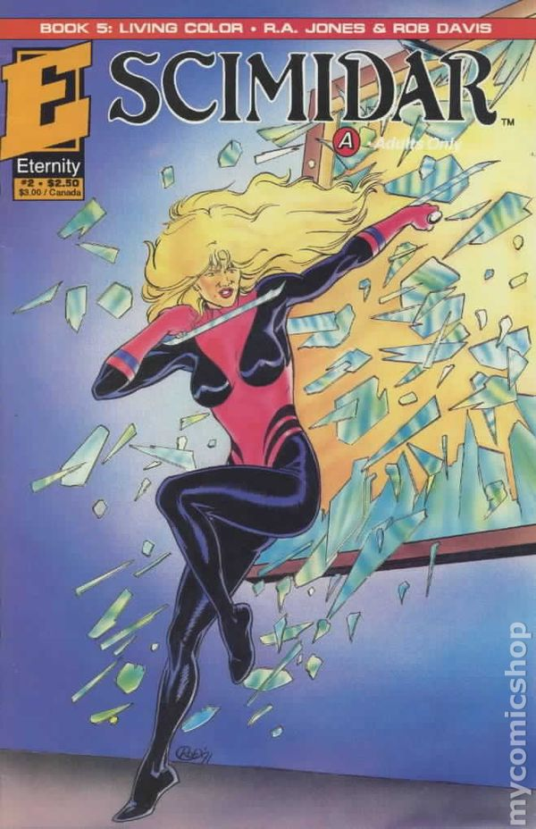 Scimidar Book 5 Living Color (1991) comic books
