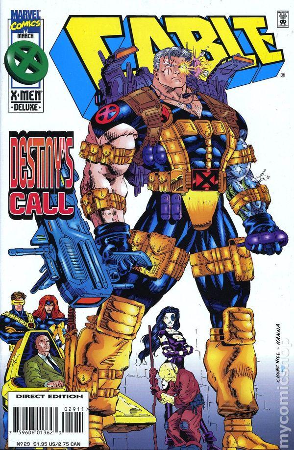 Cable (Vol 1) # 49 Very Fine (VFN) Marvel Comics MODERN AGE