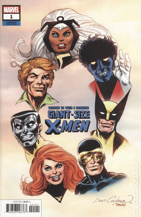 Giant Size X-Men #1 Facsimile Variant • NM • 1st Appearance of Storm • Marvel