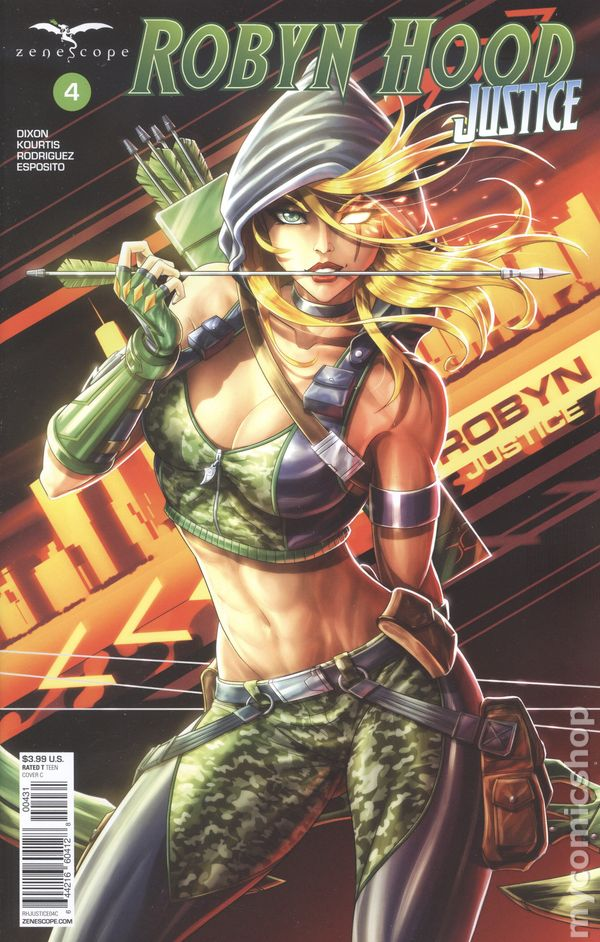 Robyn Hood Justice #2B NM 2020 Stock Image