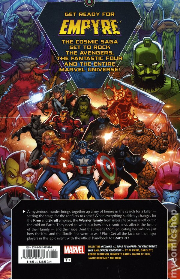Marvel Comics ROAD TO EMPYRE #1 first printing