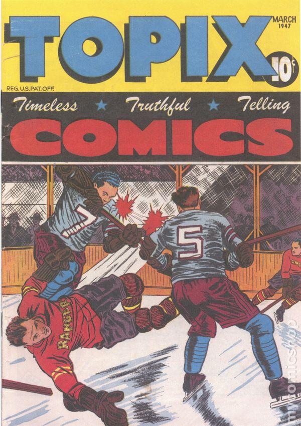 Comic Books March 1947