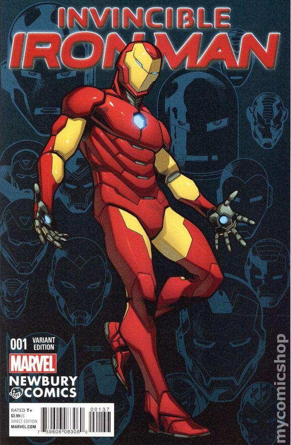 Details about  /INVINCIBLE IRON MAN 1  Walmart exclusive Marvel comic book