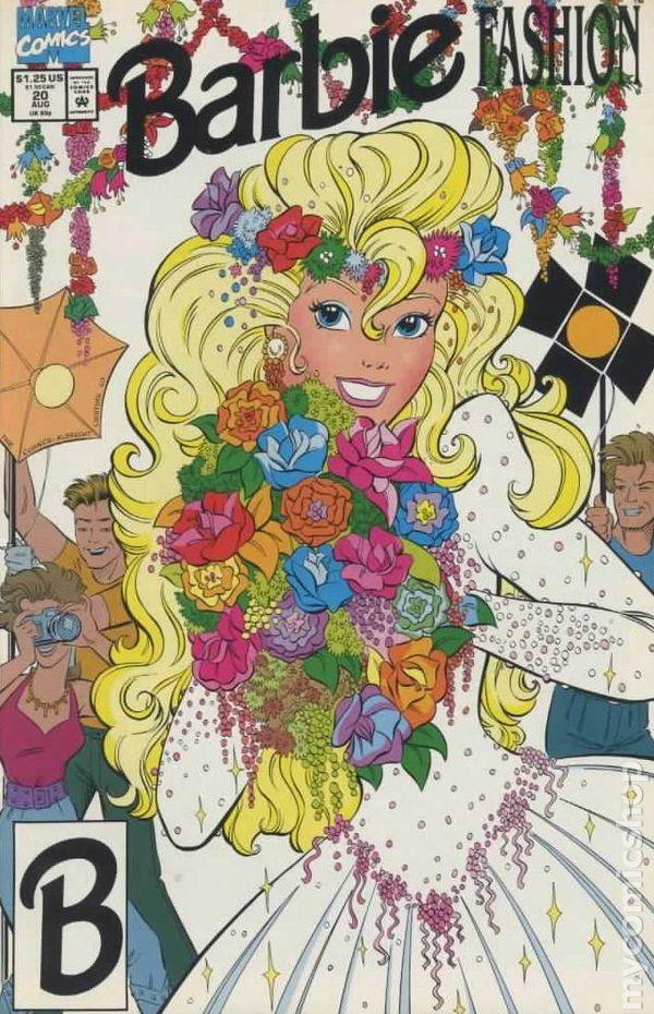 Barbie Fashion #9 VG 4.5 1991 Stock Image Low Grade