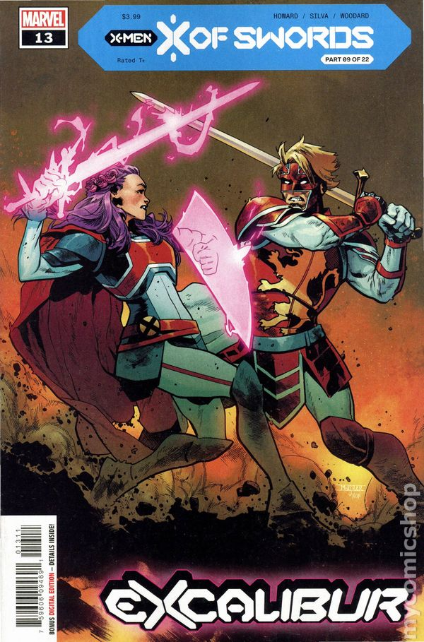 Excalibur #9 Cover A NM 2020 1st print