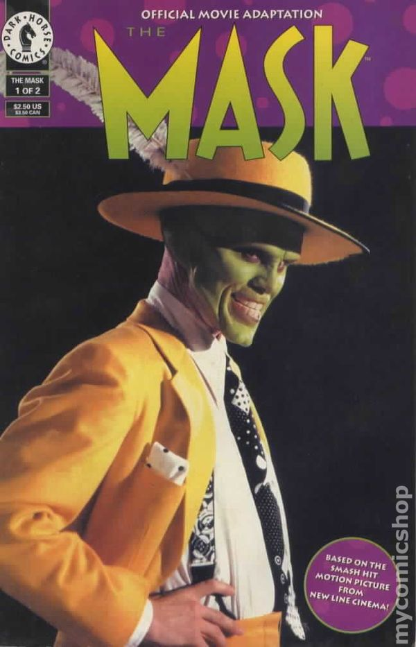 Mask Official Movie Adaptation 1994 Comic Books