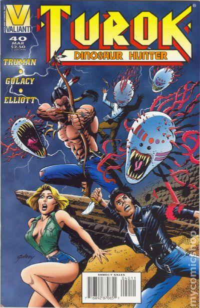 Timothy Truman Dinosaur Hunter # 9 Turok Valiant, USA, 1994