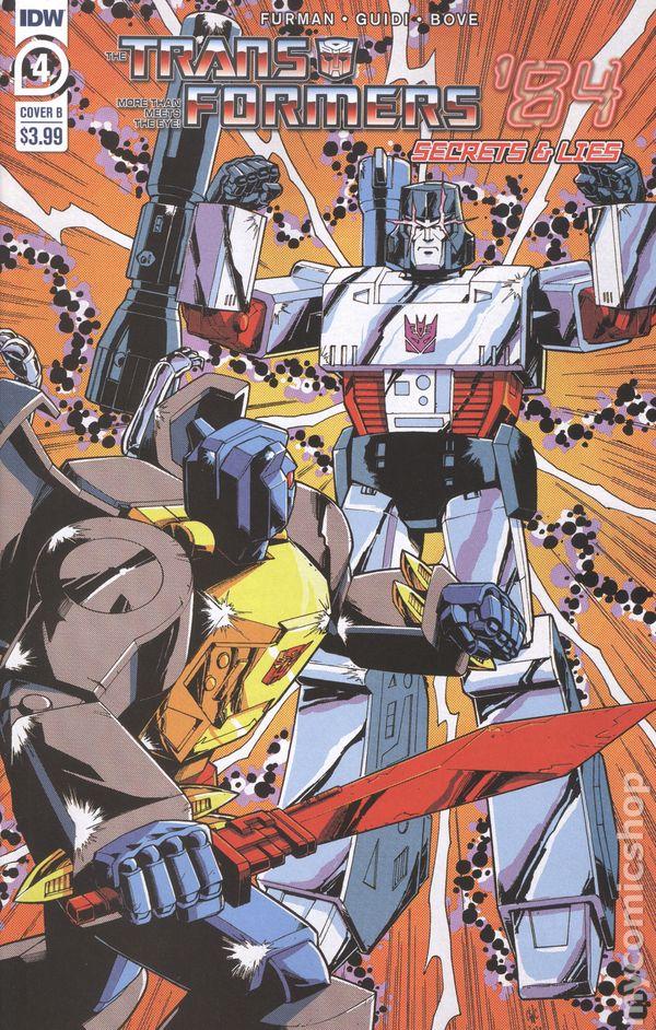 Transformers 84 Secret /& Lies #1-3Select A /& B 1:10 CoversIDW NM 2020