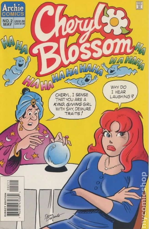 Cheryl blossom 1997 3rd series comic books